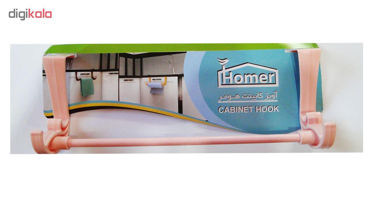 آویز کابینت هومر مدل CABINET HOOK main 1 3