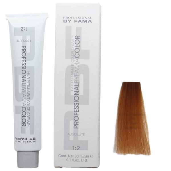 رنگ مو پروفشنال بای فاما سری ابسولوت شماره 9/34 حجم 80 میلی لیتر رنگ بلوند نسکافه ای