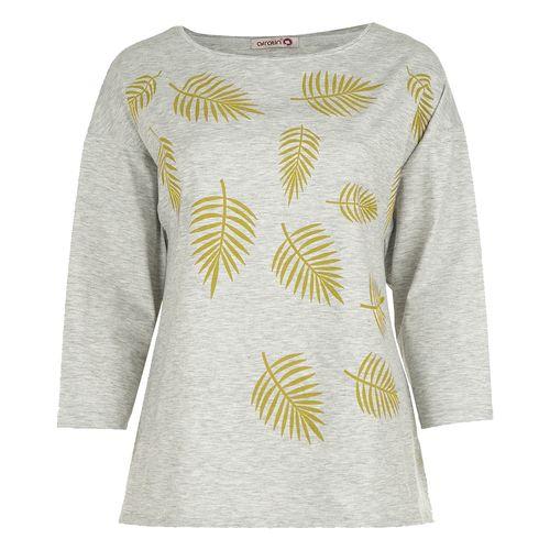 تی شرت زنانه افراتین کد7503b رنگ طلایی