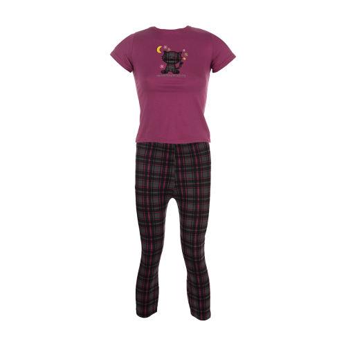 ست تی شرت و شلوار راحتی دخترانه ناربن مدل 1521149-67