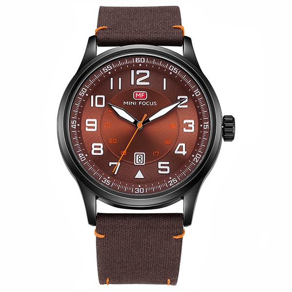 ساعت مچی عقربه ای مردانه مینی فوکوس مدل mf0166g.03 53