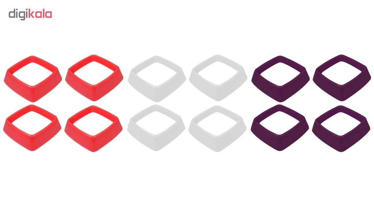 قالب شیرینی بک ویر مدل Cube بسته 4 عددی main 1 4