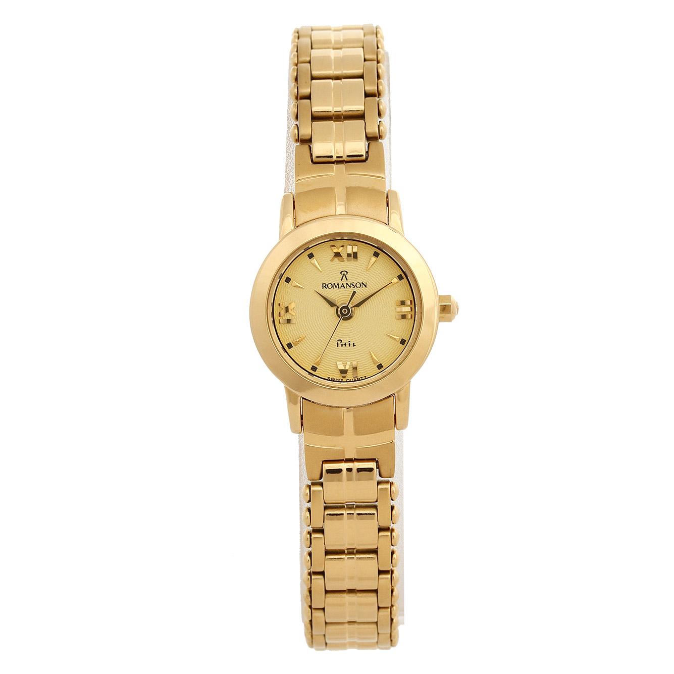 ساعت مچی عقربه ای زنانه رومانسون مدل NM6509LL1GA81G