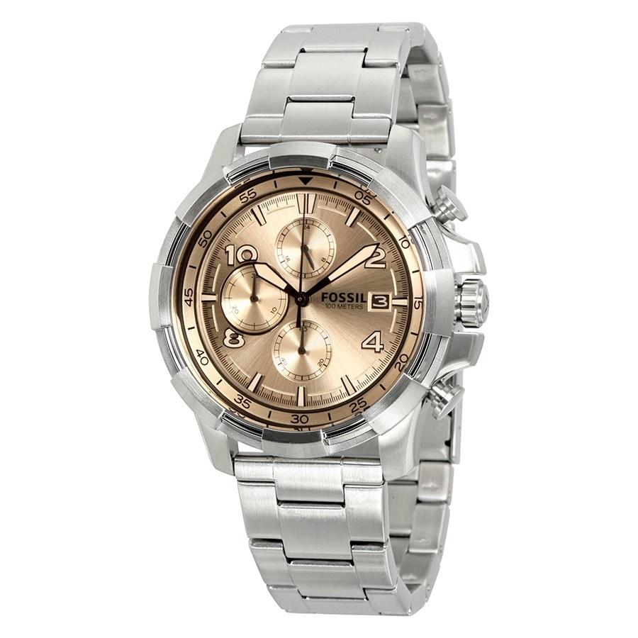 ساعت مچی عقربه ای مردانه فسیل مدل FS5163
