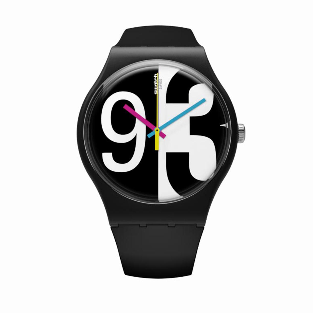 ساعت مچی عقربه ای  مردانه سواچ مدل SUOB141