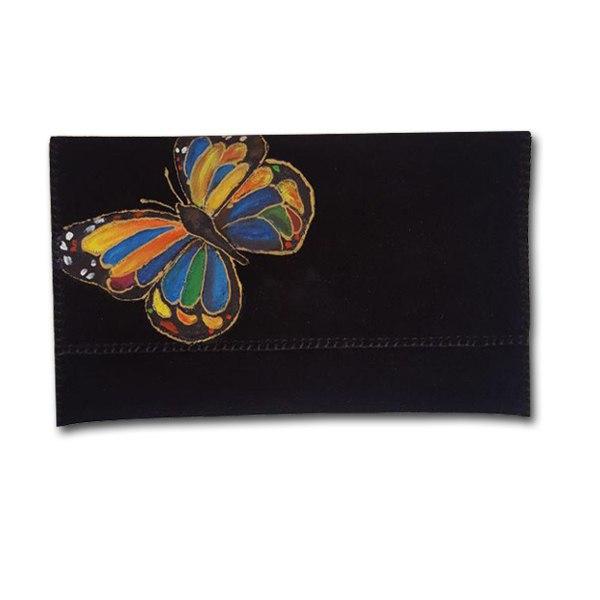 کیف چنگوم طرح پروانه رنگارنگ