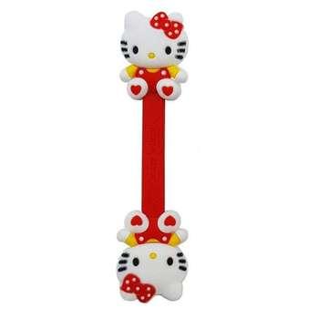 بست کابل شارژ طرح Hello Kitty