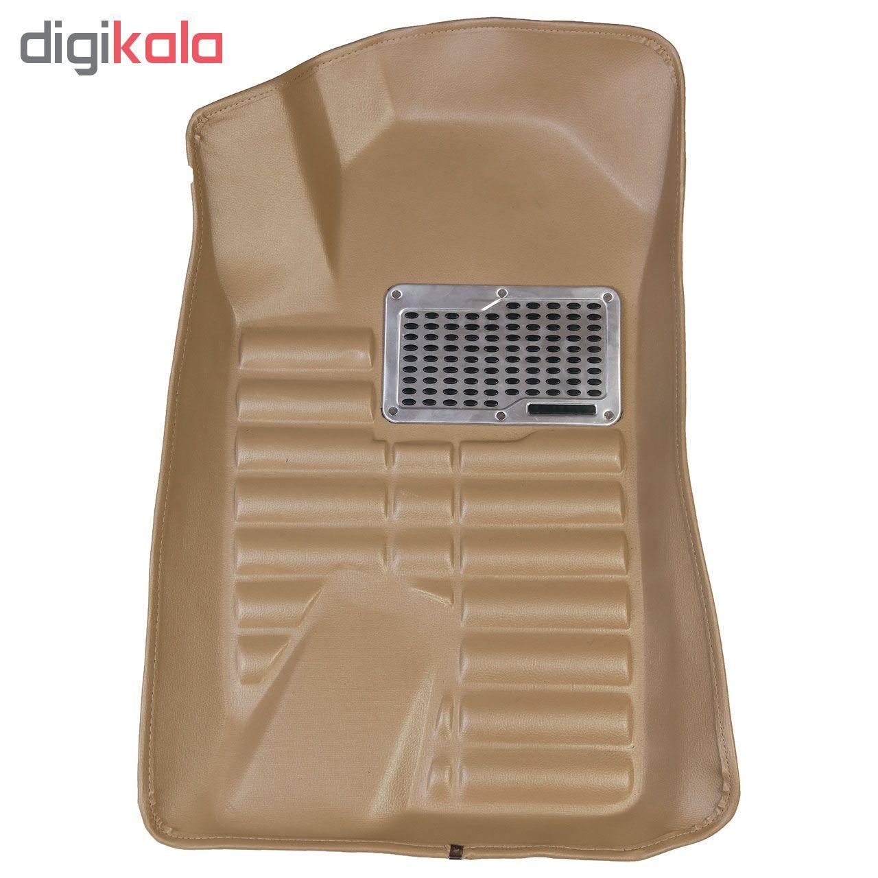 کفپوش سه بعدی خودرو مدل پالیز مناسب برای دنا-سمند-پژو 405-پارس main 1 2