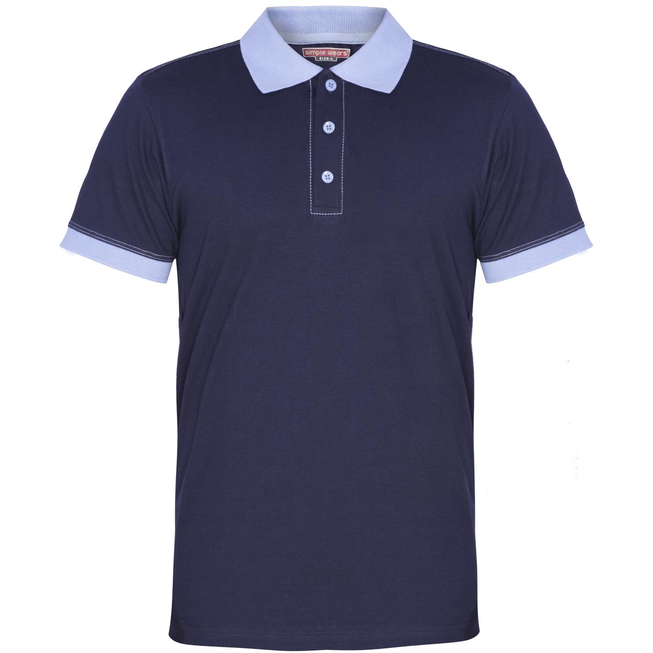 پولوشرت مردانه سیمپل ورز مدلs97-polo-NBL