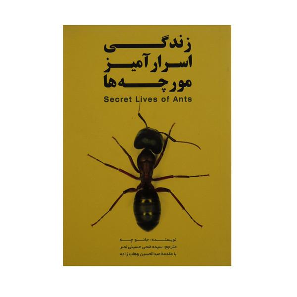 کتاب زندگی اسرار آمیز مورچه ها اثر جاعو چه انتشارات گوتنبرگ