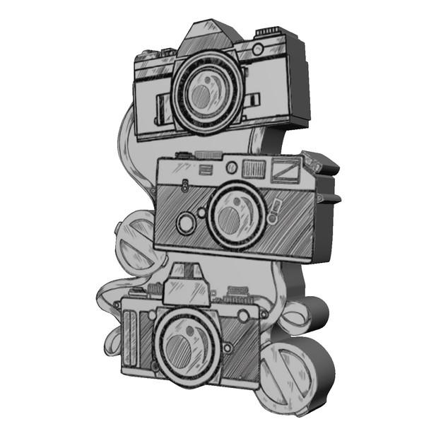 پیکسل طرح دوربین کد 8