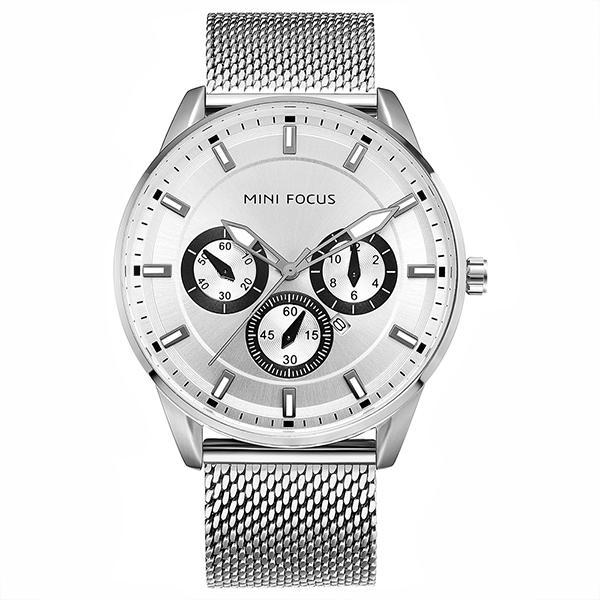 ساعت مچی عقربه ای مردانه مینی فوکوس مدل mf0178g.05