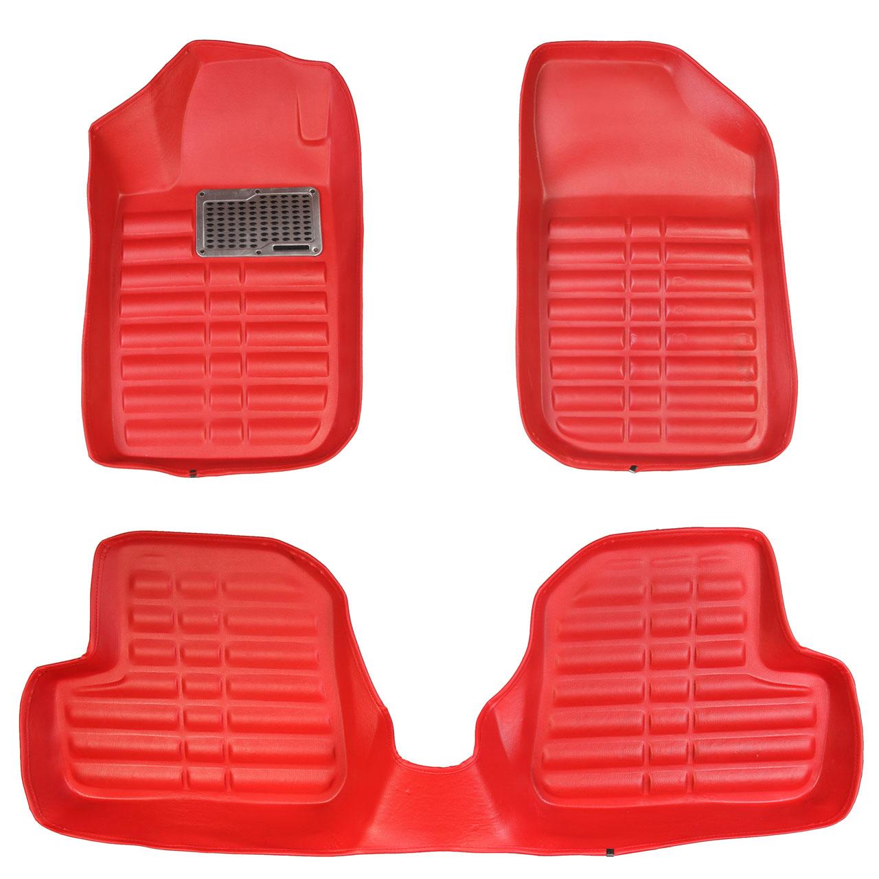 خرید                     کفپوش سه بعدی خودرو مدل پالیز مناسب برای 207-206-رانا