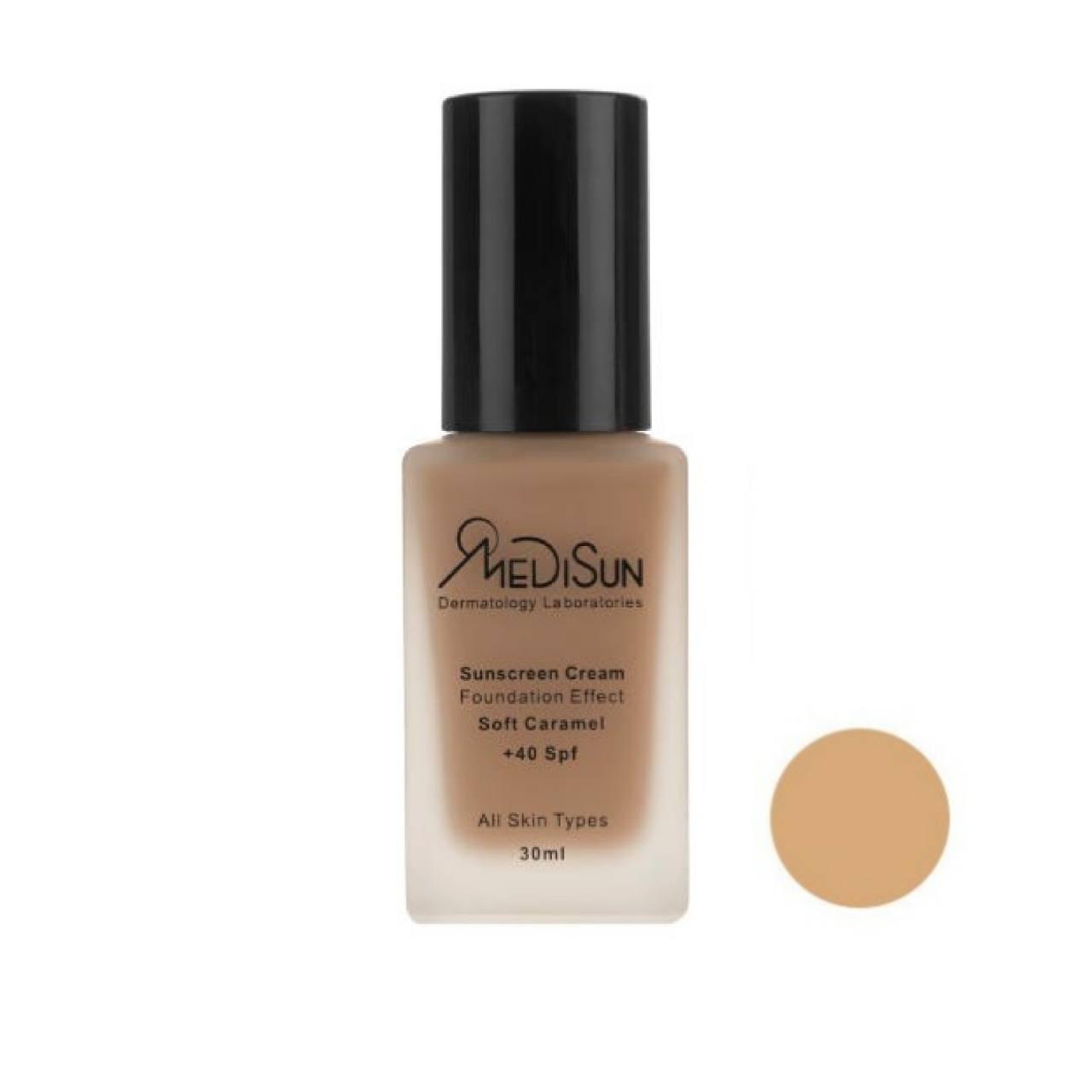 کرم پودر مدیسان سری All Skin مدل Foundation Effect No 3 حجم 30 میلی گرم