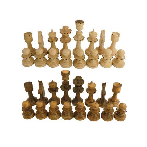 مهره شطرنج مدل C01 مجموعه 32 عددی