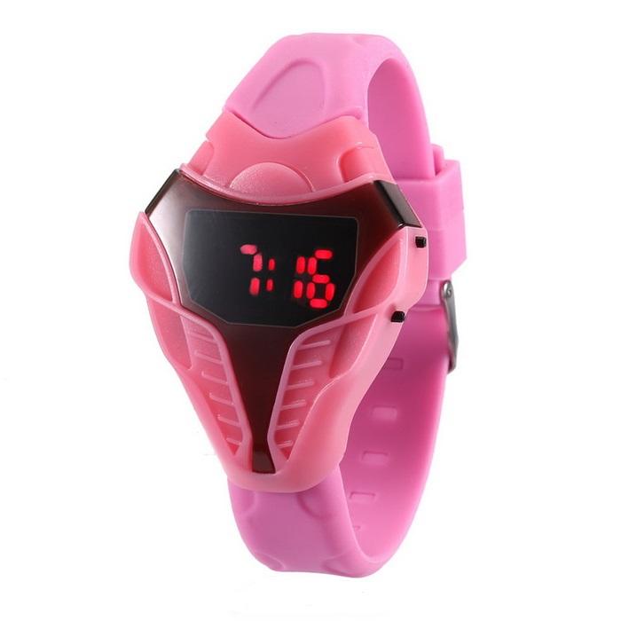ساعت مچی دیجیتالی مدل pink kobra