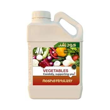 کود مایع رشد مدل vegetables حجم 5 لیتر |