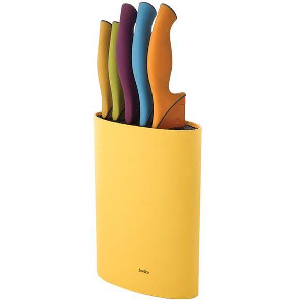 ست چاقو 6 پارچه باریکو مدل Rainbow