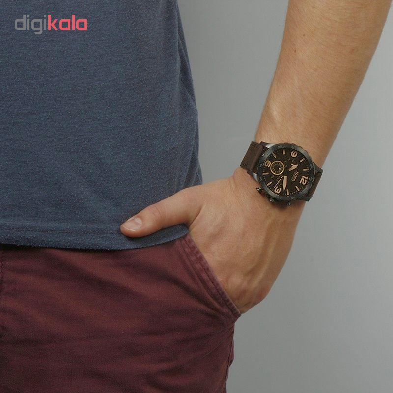ساعت مچی عقربه ای مردانه فسیل مدل JR1487