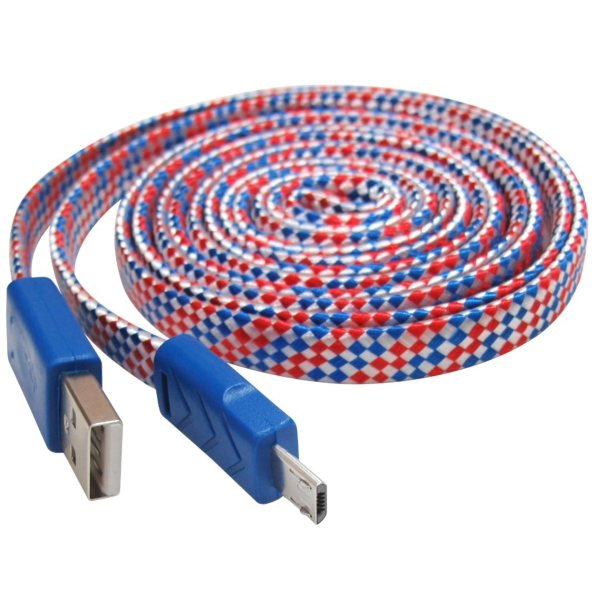 کابل تبدیل USB به MicroUSB مکا مدل MCU28 طول 2 متر
