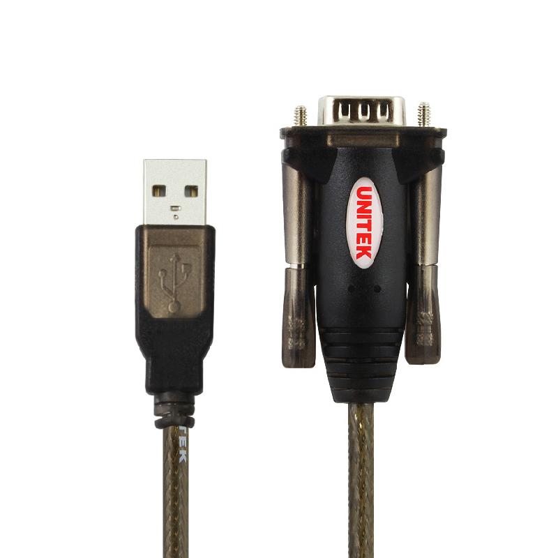 قیمت                      کابل تبدیل USB2.0 به سریال  RS232 یونیتک مدل Y-105 طول 1.5 متر