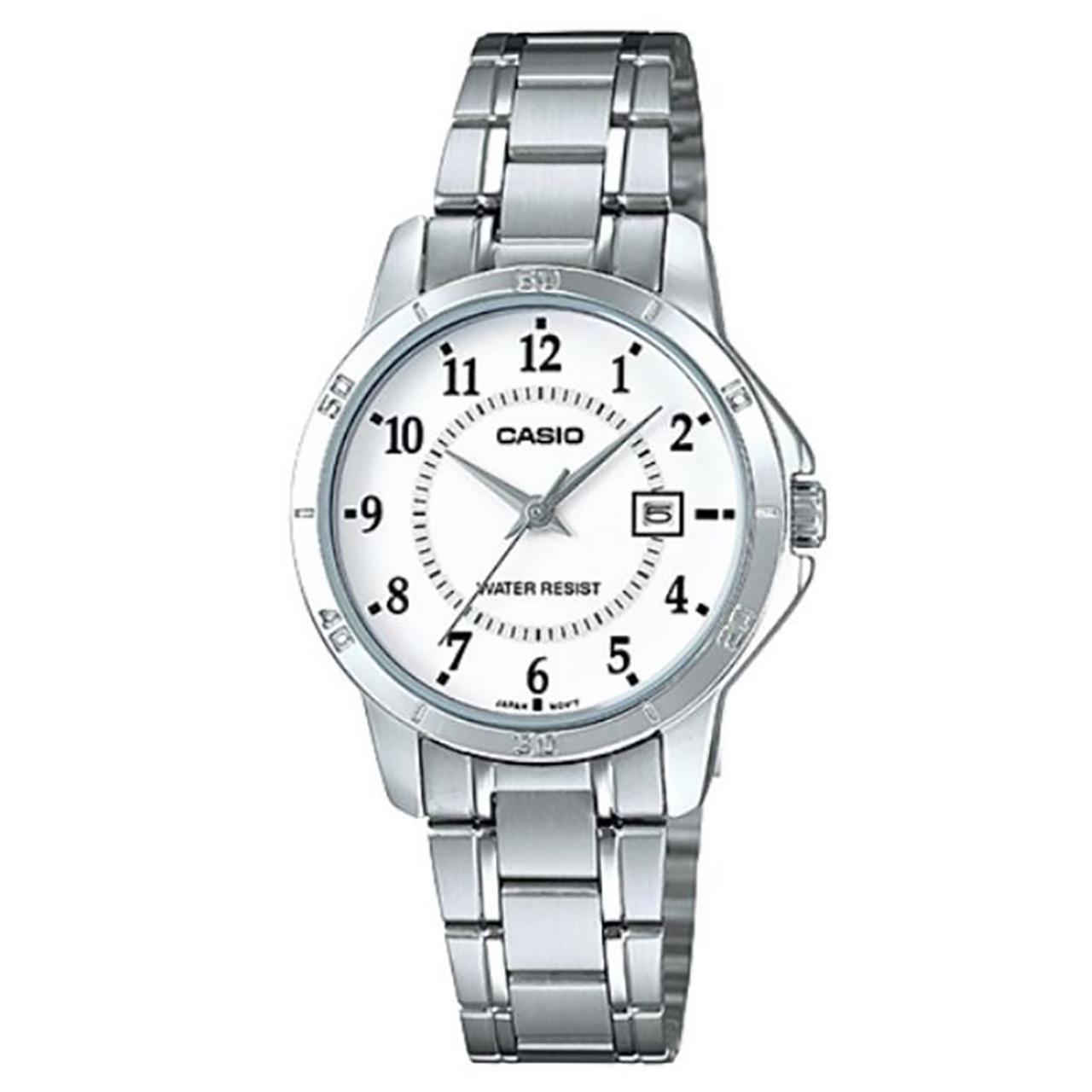 ساعت مچی عقربه ای زنانه کاسیو مدل LTP-V004D-7BUDF