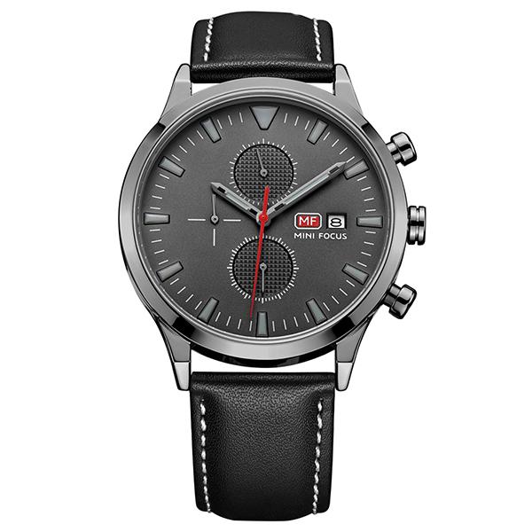 ساعت مچی عقربه ای مردانه مینی فوکوس مدل mf0015g.04