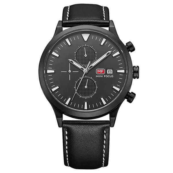 ساعت مچی عقربه ای مردانه مینی فوکوس مدل mf0015g.01