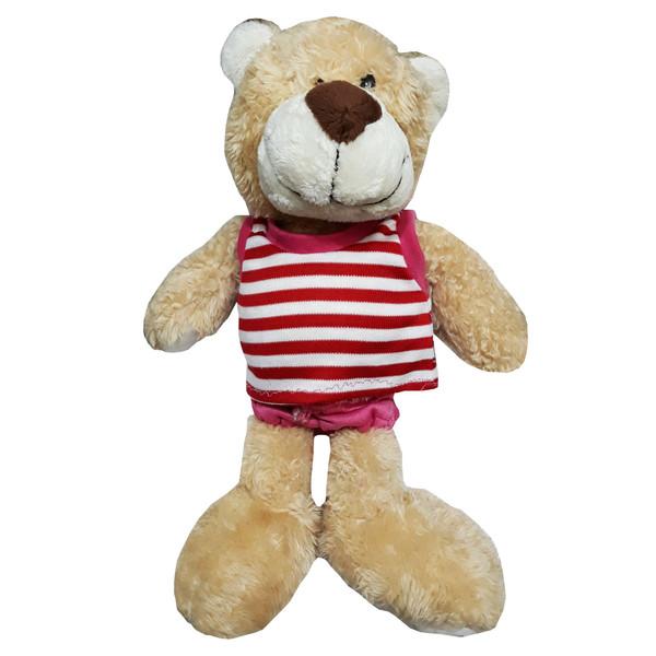 عروسک مدل Teddy Bear کد 76 ارتفاع 25 سانتی متر