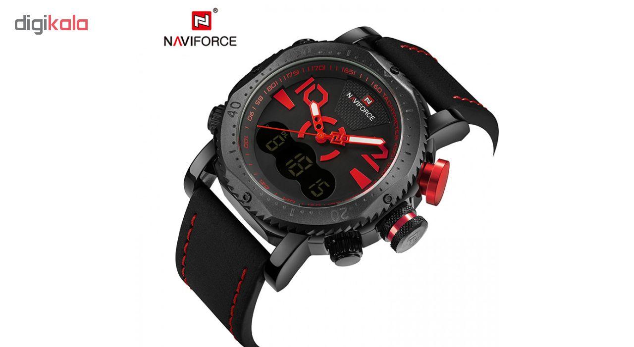 ساعت مچی عقربه ای مردانه نیوی فورس مدل NF9094M/MGH