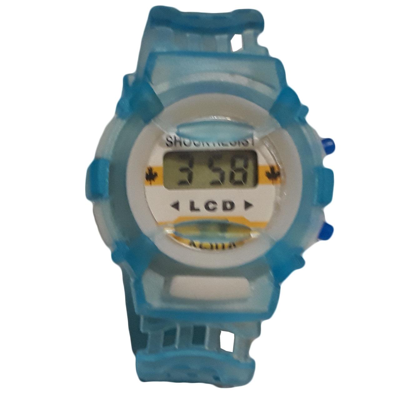 ساعت مچی دیجیتالی بچگانه مدل Bl-Transparent