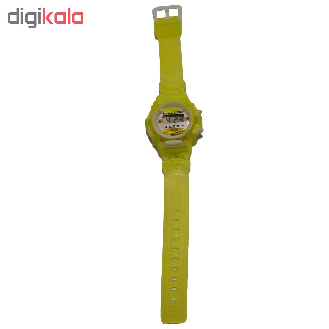 ساعت مچی دیجیتالی بچگانه مدل G-Transparent
