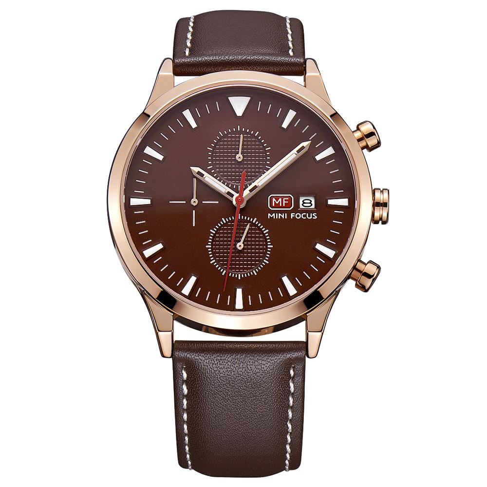 ساعت مچی عقربه ای مردانه مینی فوکوس مدل mf0015g.02