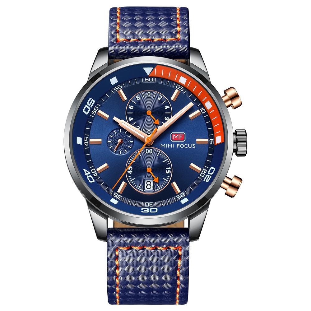 کد تخفیف                                      ساعت مچی عقربه ای مردانه مینی فوکوس مدل mf0017g.02