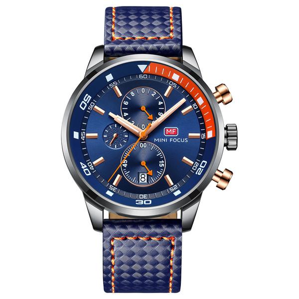 ساعت مچی عقربه ای مردانه مینی فوکوس مدل mf0017g.02