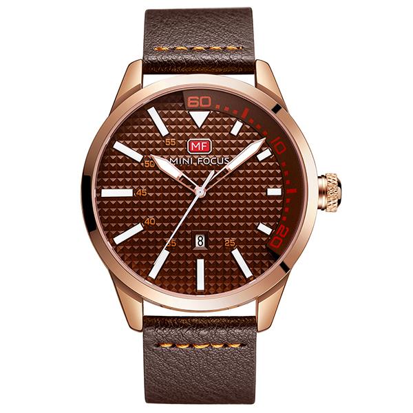 ساعت مچی عقربه ای مردانه مینی فوکوس مدل mf0021g.04