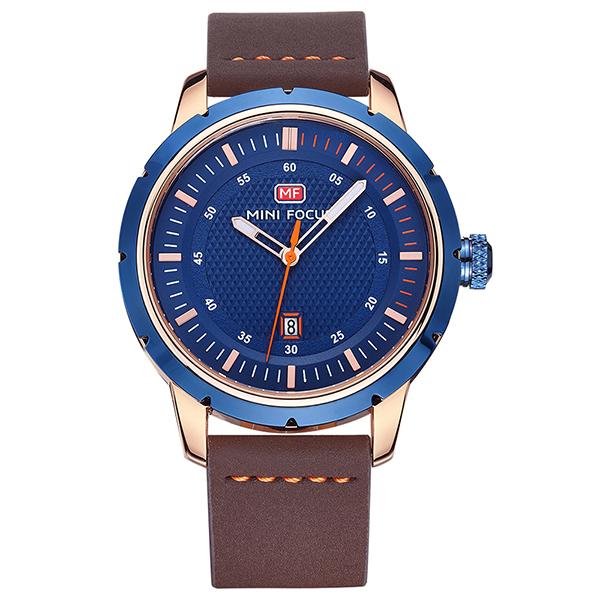 ساعت مچی عقربه ای مردانه مینی فوکوس مدل mf0014g.02