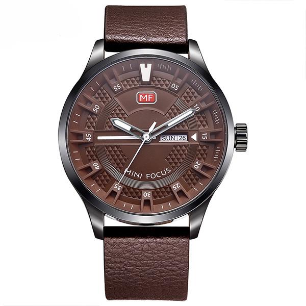 ساعت مچی عقربه ای مردانه مینی فوکوس مدل mf0028g.04