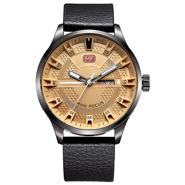 ساعت مچی عقربه ای مردانه مینی فوکوس مدل mf0028g.03
