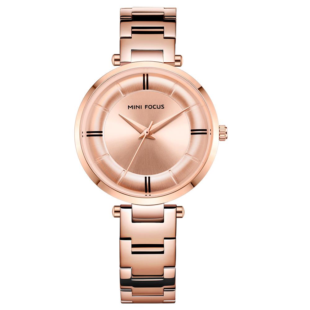 ساعت مچی عقربه ای زنانه مینی فوکوس مدل mf0235l.02 52