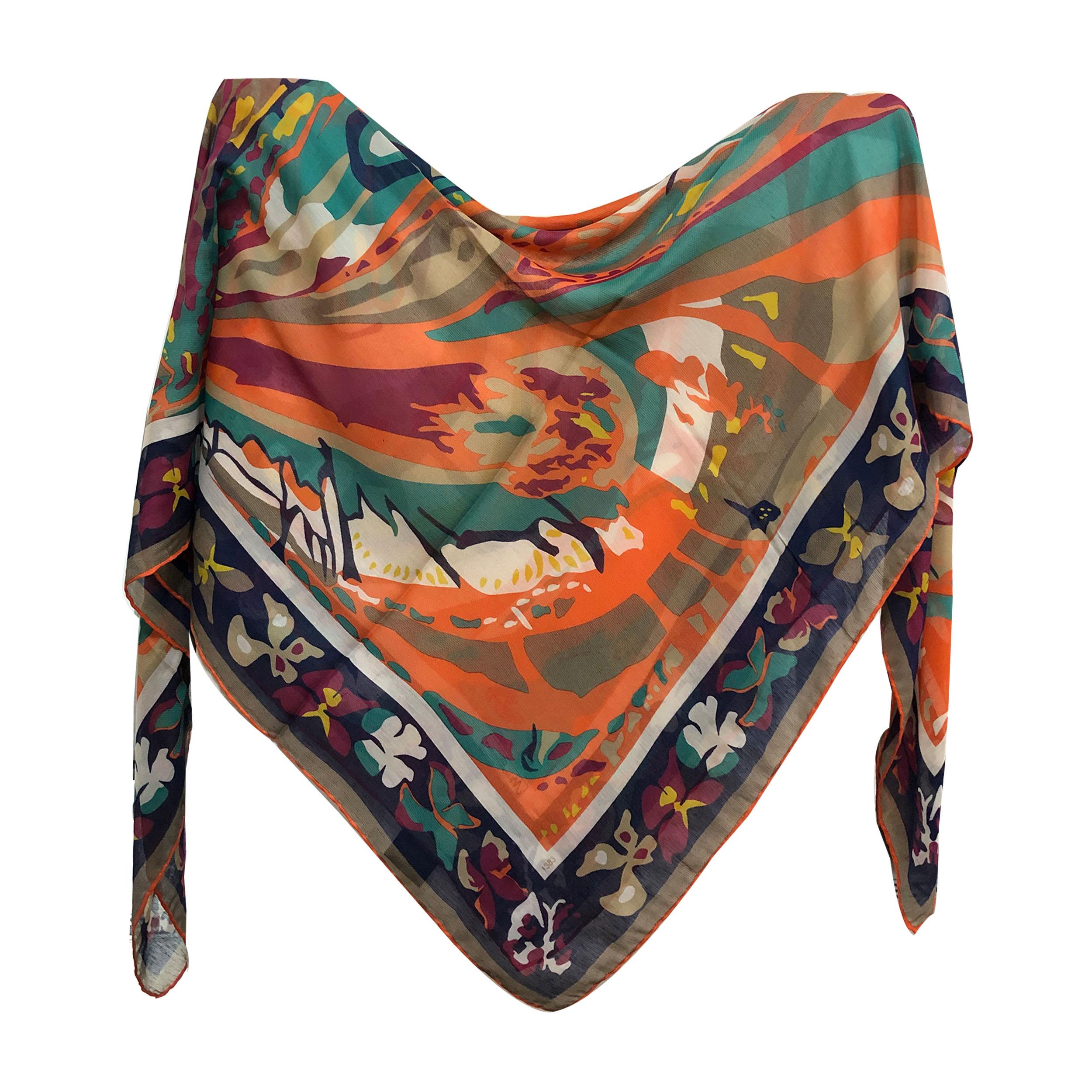 روسری زنانه شاین میس اسمارت دست دوز کد 1341 مدل 07