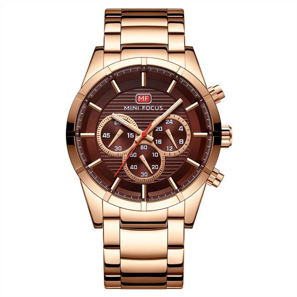 ساعت مچی عقربه ای مردانه مینی فوکوس مدل mf0170g.04