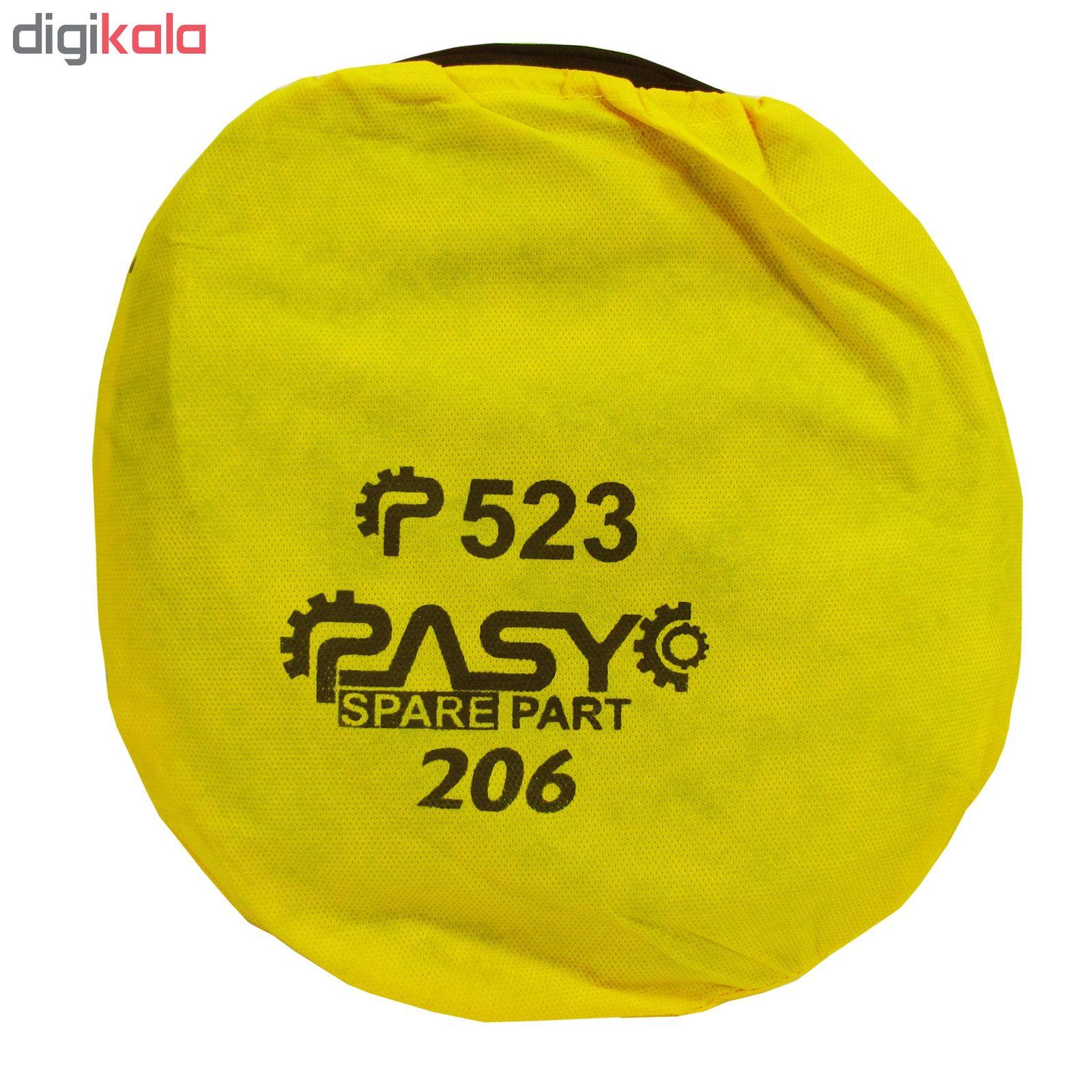 آفتاب گیر شیشه خودرو پاسیکو مدل P526 مناسب برای پژو 206 بسته 4 عددی main 1 5