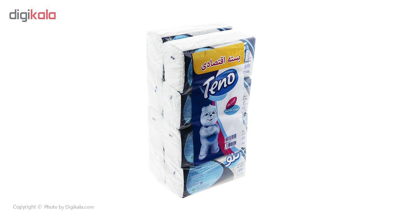 دستمال کاغذی 250 برگ تنو مدل Soft بسته 8 عددی main 1 1