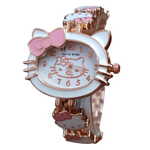 ساعت مچی عقربه ای دخترانه و بچگانه کیتی کد KITI-03