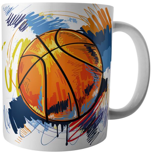 ماگ آکو طرح بسکتبال کد B306