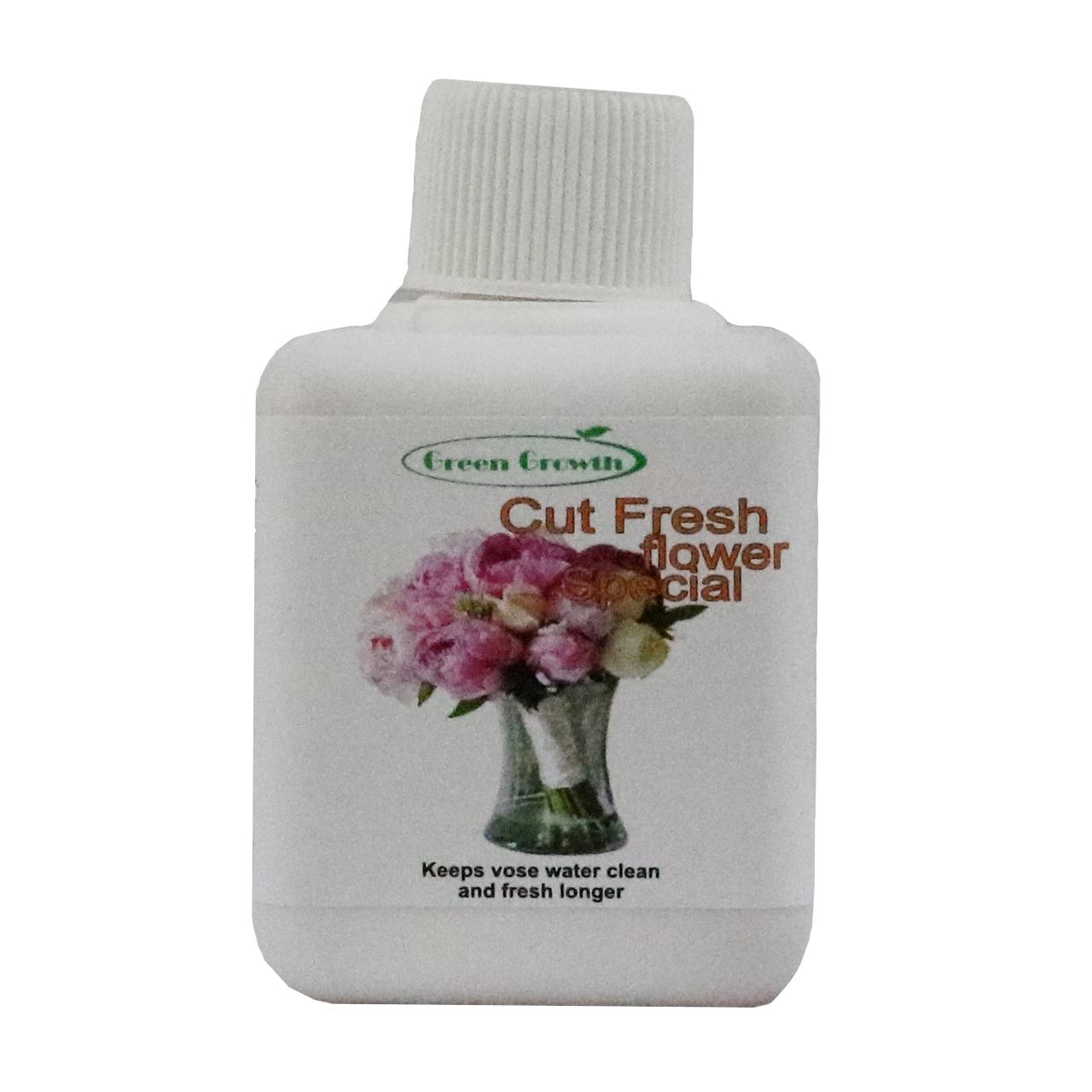 کود مایع گرین گروت مدل 08 حجم 90 میلی لیتر مناسب برای گل های شاخه بریده