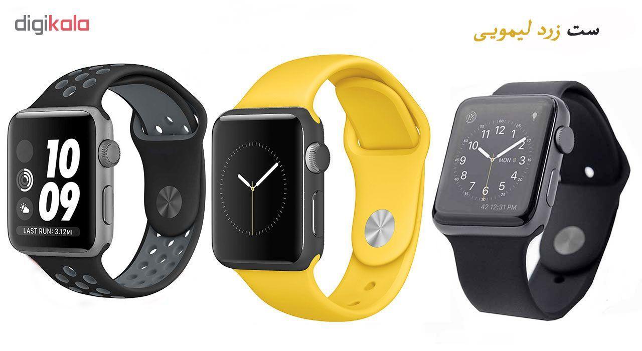 ساعت هوشمند مدل  iWO-s  همراه دو بند اضافه نایک و محافظ صفحه نمایش و بگ شیدتگ main 1 4