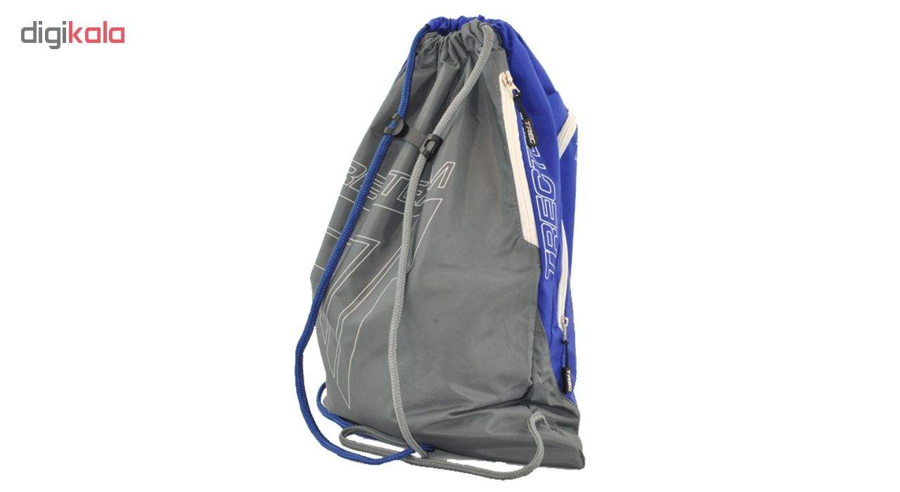 کوله پشتی ورزشی ترک ویر مدل 002 Grey-Blue main 1 3
