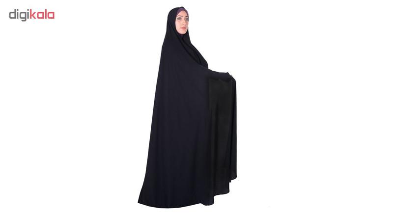 چادر سنتی ایرانی کرپ کریستال شهر حجاب مدل 8007